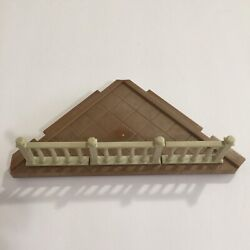 Calico Critters Luxury Town Home Townhouse Replacement Corner Floor With Railing $36.00