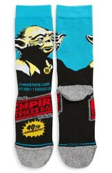 Stance Star Wars L 9 13 Men#x27;s Empire Strikes Back Yoda 40th Anniversary Socks $16.95