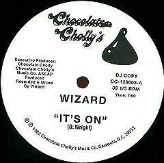 Wizard – It#x27;s On 12quot; Electro Funk Boogie AU $98.00