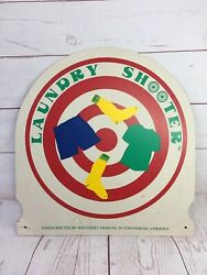 Winterset Designs Vermont Laundry Shooter Sign Handcrafted Target Socks USA Vtg $28.99
