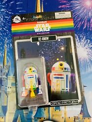 Disney Parks Exclusive Star Wars Rainbow Pride R2 RN8W Rainbow Droid Factory NEW $29.95