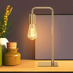 Industrial Desk Bedside LampSmall Nightstand Lamp for Bedroom OfficeGold $22.90