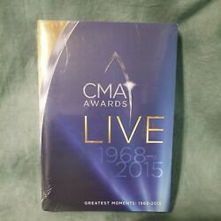 CMA Awards Live Greatest Moments 1968 2015 Time Life 10 DVD Set amp; Memory Booklet