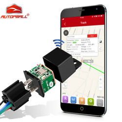 GPS Car Tracker Relay Real Time Device GSM Locator Cut Oil Anti theft Hidden APP $24.98