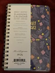 Thimblepress for Blue Sky Mini Weekly Monthly Planner Sweet Pea 2021 2022 $11.00
