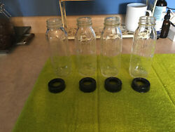 Glass baby bottles vintage Evenflo and Pyrex $11.00