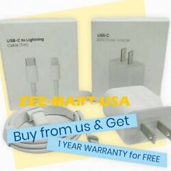 Original Fast Charger 20W USB C Power Adapter Cable Fr iPhone 11 12 Pro Max iPad $15.99