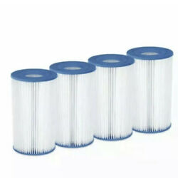 Summer Waves 4 PACK A C Pool Filter Cartridge AC A C Filter Summer For Pools $33.96