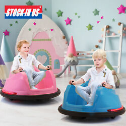 6V Kids Electric Ride On Bumper Car 360 Spin ASTM Certified w Remote Control $139.99