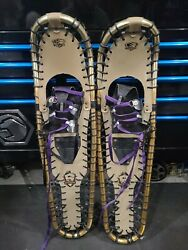 Sherpa Tracker Snowshoes 34quot;x 9.5quot; Trail Walking Hiking great condition $79.99