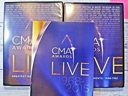 CMA AWARDS LIVE CMA AWARDS LIVE DVD 1968 2015 Very Good