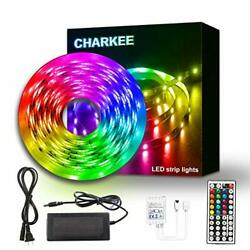 Led Strip Lights 25Ft Charkee Led Lights Rgb Color Changing Light With Remote $17.80