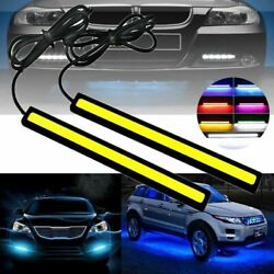 Two Pcs Car LED Strip Light Styling Interior Decorative Exterior Atmosphere Lamp