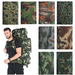 Digital Camo Fabric Army Camouflage Waterproof Outdoor For Tablecloth Diy Sewing