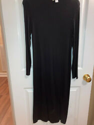 Nicki Minaj Long Black Dress XLarge Stretch