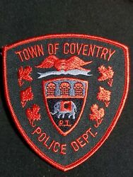 Rhode Island Coventry Police Patch $5.89