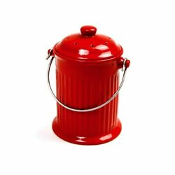 Ceramic Compost Keepers Red $35.99