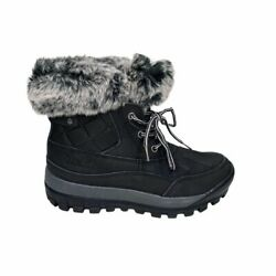 NEW BEARPAW Becka Cold Weather Boot Black 6M $50.00