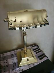 Banker Piano Brass Lamp $50.00