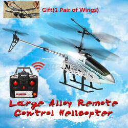 Metal 3.5CH 33#x27;#x27; Giant RC Helicopter Gyro Remote Control Outdoor Large Airplane $54.33