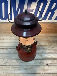 Coleman 1974 Lantern Red 200A Camping Tested Works No Globe $69.99