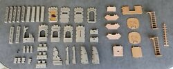 Playmobil Castle Wall and Floor Parts Ladders Knights Medieval Fantasy Rock $50.00