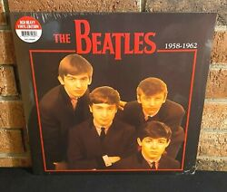 THE BEATLES 1958 1962 Limited Import 180G RED COLORED VINYL LP NewSealed $22.00