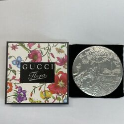 GUCCI Flora Compact Mirror Novelty size 8cm Unused Boxed $99.00