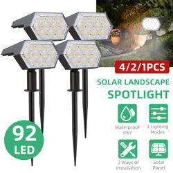 Solar Power LED Outdoor Lights Automatic On Off Landscape Garden Lawn Path Lamp $24.69