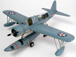 RCM Plans Vought 48quot; Wingspan KingFisher RC Remote Control Airplane Balsa Kit $169.95