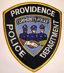 Providence Rhode Island Community Police Patch FREE US SHIPPING $7.50