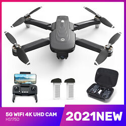NEW Holy Stone HS175D Foldable DRONE FPV 4K Camera Brushless RC GPS Quadcopter $319.98