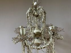 Katherine#x27;s Collection Retired amp; Rare Beaded Chandelier $449.99