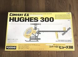 Vintage Kyosho Convert EX Hughes 300 Electric Helicopter $320.00