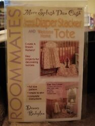 Diaper Stacker amp; Welcome Home Tote Pattern By Donna Babylon * Paper Pattern $9.50
