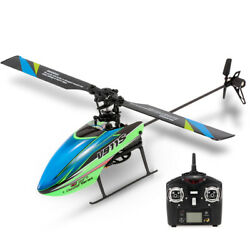 WLtoys V911S RC Helicopter For Beginners 2.4Ghz 4CH 6G 6 Aircraft Toys M6L5 $52.43