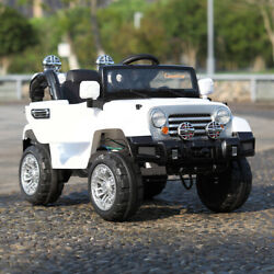 12V Kids Ride On Truck Car Parent Remote Control Motorized Cars for Kids Music $128.99