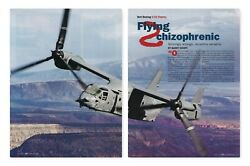 Bell Boeing V 22 Osprey Helicopter Aircraft report 6 9 2021nn $9.49