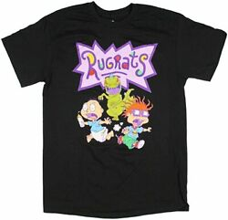 Nickelodeon Rugrats Movie Tommy Chuckie And Reptar Tee Shirt New $18.99