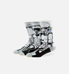 New with Tags Stance Socks Star Wars quot;Trooper 3quot; L 9 12 Stormtroopers Empire $14.99