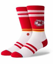 New with Tags Stance Socks NFL Kansas City quot;Chiefs Logoquot; L 9 12 Football $12.99