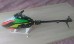 Lynx Oxy2 RC Helicopter Kit flybarless system servos motor partially built $400.00