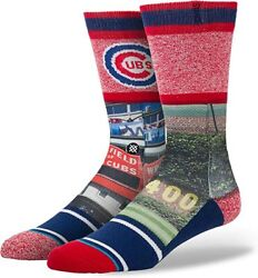 New with tags Stance Socks Chicago Cubs quot;Ivyquot; MLB L 9 12 Wrigley Field $14.99