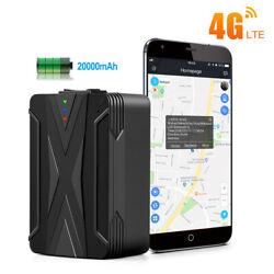 4G Car Tracker Magnetic LTE Vehicle Real Time GPS Tracking Spy 30 Day Waterproof $117.99