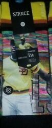 New with tags Stance Socks MLB Legends quot;Tony Gwynnquot; L 9 12 SD Padres HOF $14.99