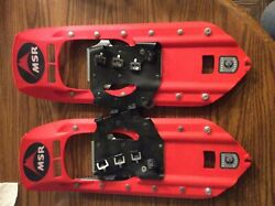 MSR Denali Classic Snowshoes 8x22 Red Pre Owned Excellent Condition $100.00