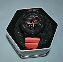 CASIO G SHOCK GMAB800SC1A4 LADIES POWER TRAINER CORAL RESIN STRAP WATCH $87.97
