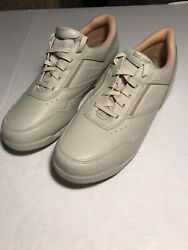 Rockport Prowalker Leather Taupe Womens 12 New $24.99