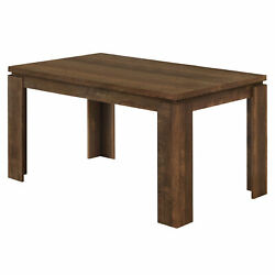 Monarch Contemporary Dining Table With Brown Finish I 1086 $423.80