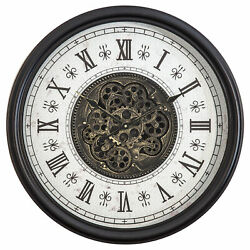 Yosemite Classic Chic Wall Clock With Gears 5140030 $209.00